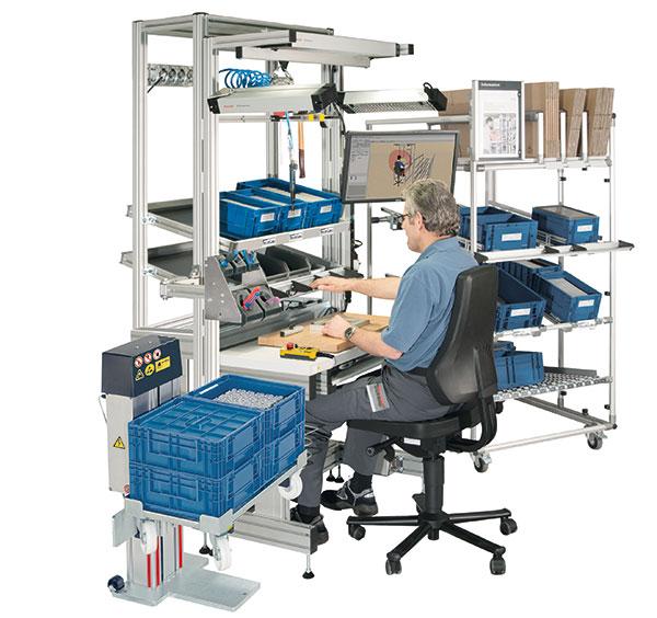 industrie am nagement et conception de poste de travail ergonomique. Black Bedroom Furniture Sets. Home Design Ideas
