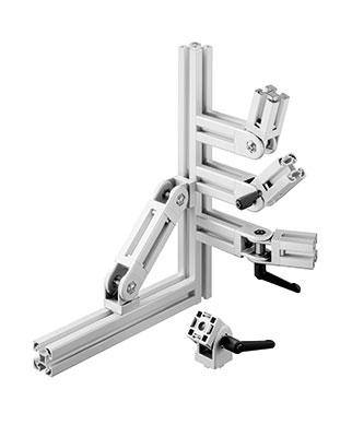 Industrie profil s en aluminium rainur s pour for Porte logique pneumatique